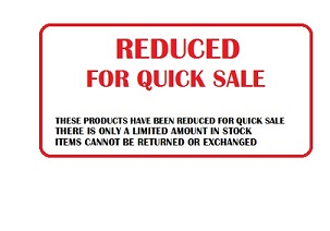 REDUCED FOR QUICK SALE